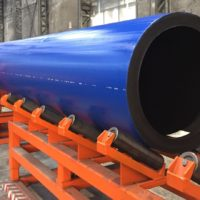 HDPE PE100 pipe high pressures big diameters