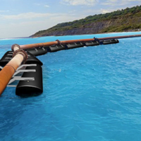 HDPE Pontoons for HDPE Pipe Steel Pipe and Pumps